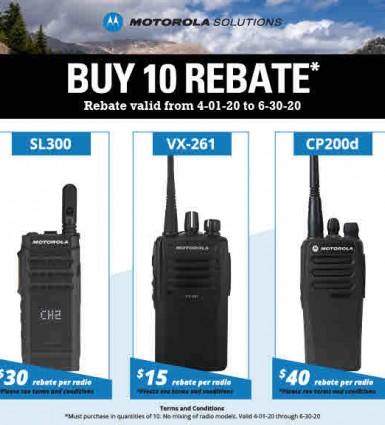Motorola Rebate 2020