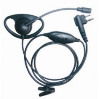 Connect Systems CSI-015 D-Ring Earpiece with Boom Mic