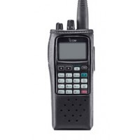 Icom LC-159  Leather Case For IC-A6 & A24 Radios
