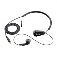 Icom HS-97 Earphone Headset with Throat Mic