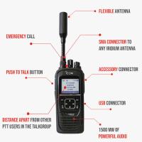 Icom SAT100 Satellite Radio