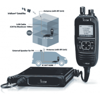 Icom SAT100M Mobile Satellite Radio