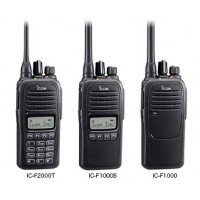 Icom F1000 | F2000 Analog Radio