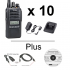 Icom F1100DS | F2100DS Radio - Multi-Pack