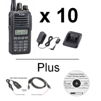 Icom F1100DT   F2100DT Radio - Multi-Pack