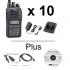 Icom F1100DT | F2100DT Radio - Multi-Pack