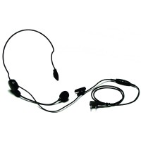 Kenwood KHS-22 Behind-The-Head Headset with PTT