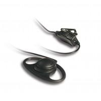 Kenwood KHS-27 D-Ring In-Line PTT Headset (KA)