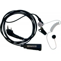 Kenwood KHS-8BL Two-Wire Palm Microphone with Earphone