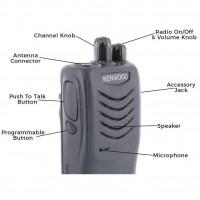 Kenwood TK-3000UK UHF Radio
