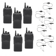 Motorola EVX-261 Radio 6-Pack Bundle