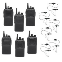 Motorola EVX-261 Six Pack Bundle