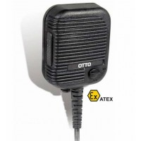 OTTO V2-10375-S Intrinsically Safe Speaker Mic for MTP850EX | Motorola (MJ)