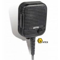 OTTO V2-10375-S Intrinsically Safe Speaker Mic for MTP850EX | Motorola MJ